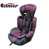 ECER44/04 be suitable 9-36KG children adjutable baby seat/baby car seat isofix