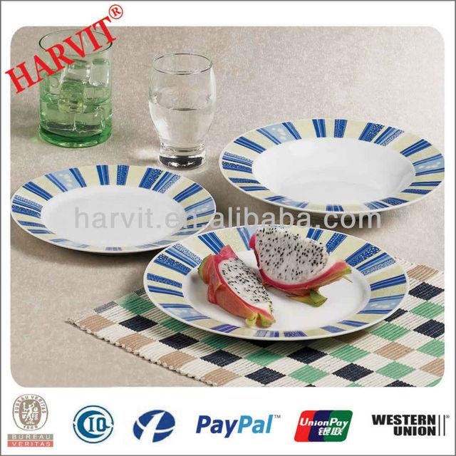 2014 Years 18 Pcs Daily Used ceramic porcelain Dinnerware set & 18pcs breakfast set porcelain_Yuanwenjun.com