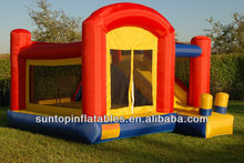 commercial inflatable bouncy castle with high quality