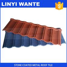 New product 2017 Kerala stone coated roof bond metal tiles with moderate prices