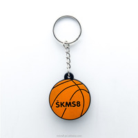 Factory price custom high quality sport PVC keychain