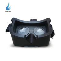 2016 New Product Virtual Reality glasses VR 3D for iPhone and Android smart phones