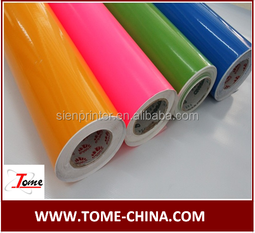 E-jet PVC materials media color cutting vinyl rolls