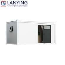 low price steel structure prefab container house/container home/container office