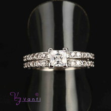 alibaba wholesale fashion platinum plated new design engagement ring