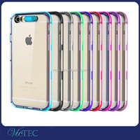 Phone Call LED Light Up Phone Case For iPhone 6 6s 4.7