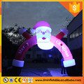 Inflatable advertising Christmas Replica, Custom Inflatable Santa Claus Arch