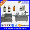 2015 hot Automatic monoblock liquid filler,liquid filler machine