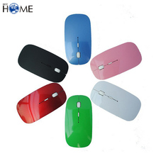 Portable 2.4Ghz Mobile Optical Computer Wireless Mouse with USB Receiver