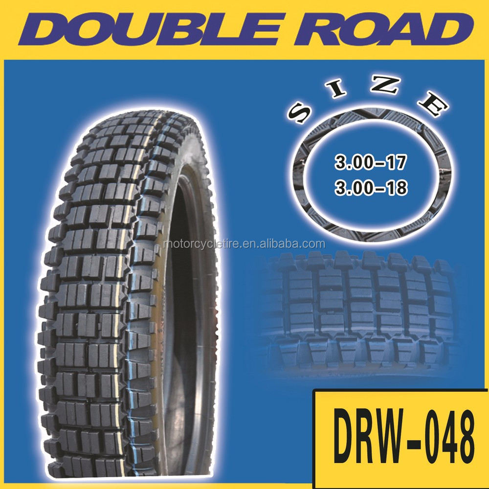 Chinese off road motorcycle tire wholesaler nylon tyre size 30-17