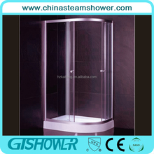 Hot Europe and Africa simple adjust glass shower enclosure room(KF105L)