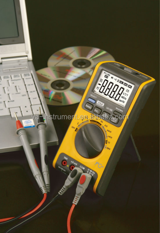 Best sell New TRMS USB digital multimeter VA18BE
