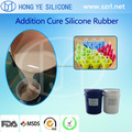 High quality FDA food grade silicone rubber for Jelly tray molding