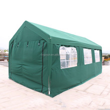 hottest green long outdoor canopy with side window design advertising tent