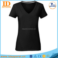korea woman t shirt wholesale , high quality black t shirt