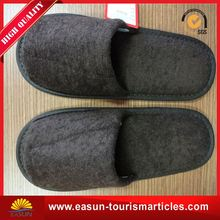 Low price airline bedroom slippers bathroom slippers white waffle men spa slippers