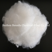 super bright virgin polyester staple fiber psf 1.2d*38mm