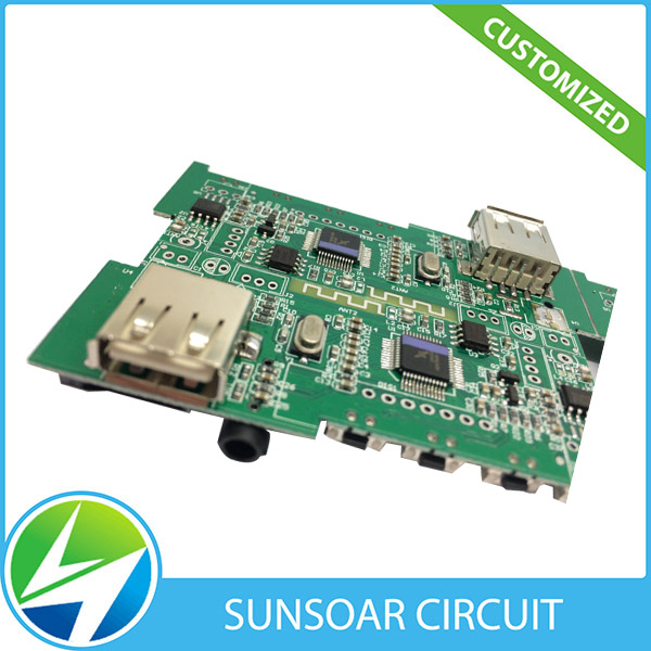 China Supplier Fast Express 94v-0 Solar Power Bank PCB Circuit Boards 20000mAh