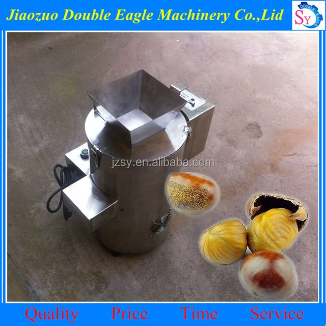 hot selling SUS hazelnut peeling machine /chestnut skin removal machine