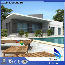 luxury prefab modern China prefabricated villa for sale