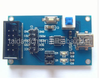 Mini USB interface AVR Development Board ATtiny13A