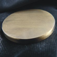 High quality brass blank metal coin