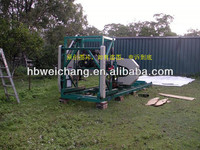 MJ800 portable sawmill machine --Diesel type