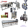Tomato Sauce Processing Machine Jam Production Equipment Ketchup Production Line