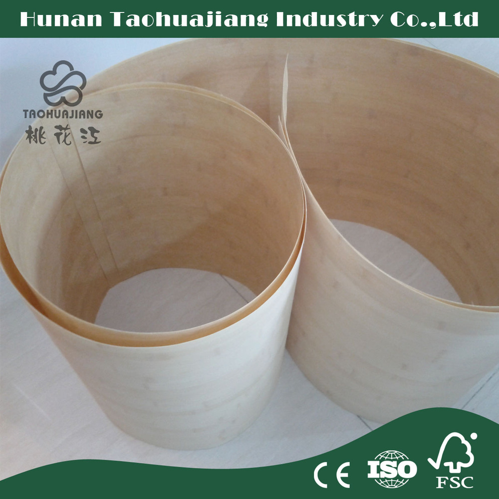Certificate of CE/FSC/ISO Bamboo Veneer Sheets