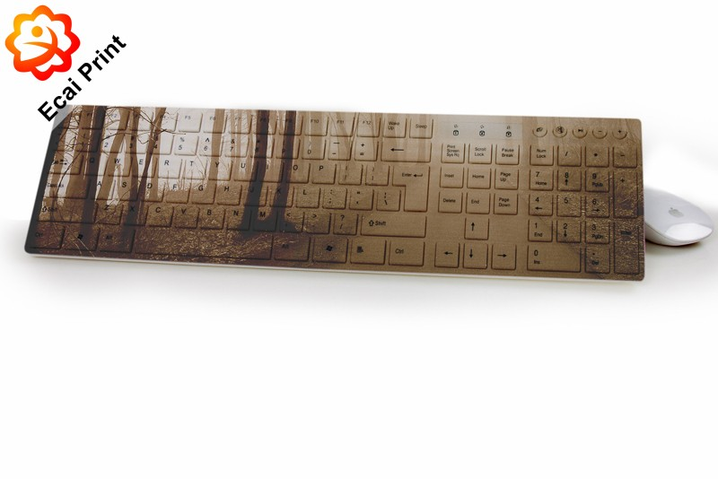 nice high quality custom made digital printing wired keyboard with pattern