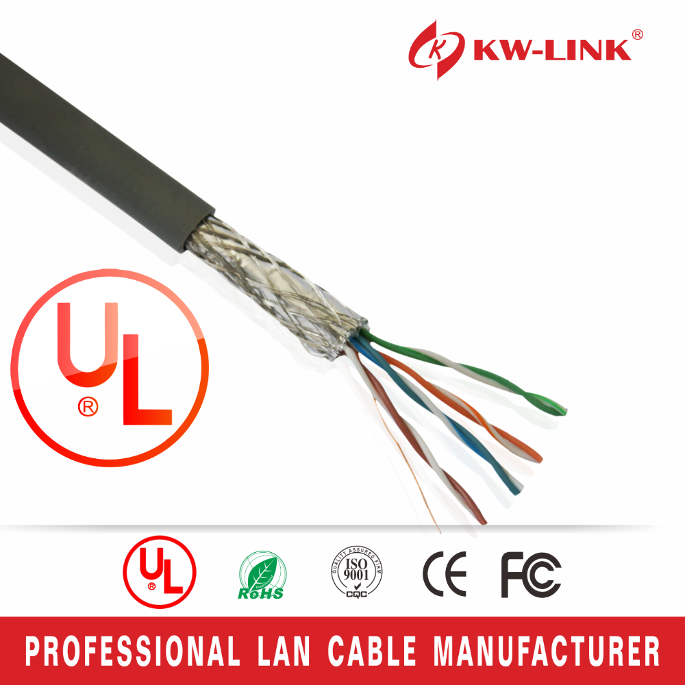 New Network Wire Color Code Products Of SFTP Cat5e Cables