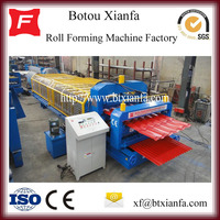 Glazed Tile And Wave Galvanized Roofing Sheet Roll Forming Machine