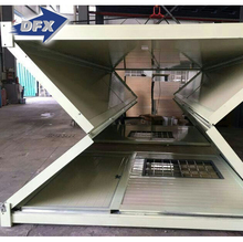 Prefabricated Foldable Steel Frame Container