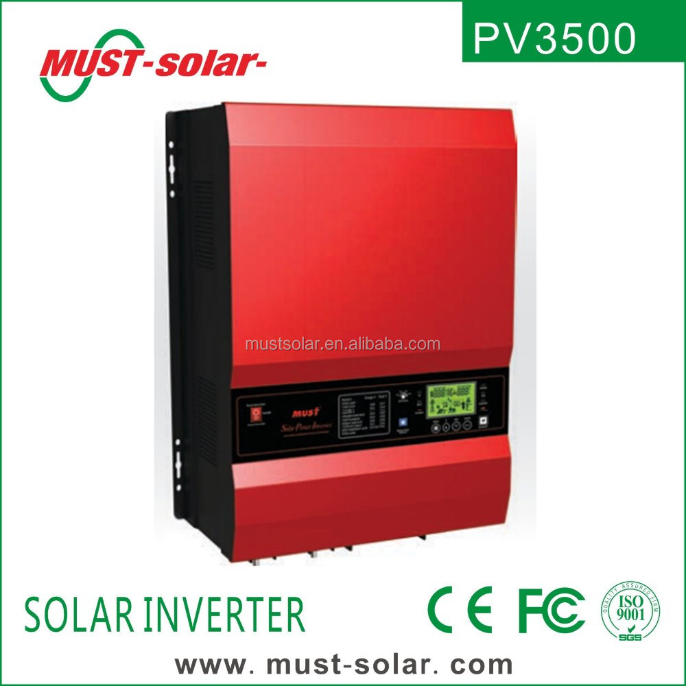 Largest offgrid solar inverter 12KW 48V single phase Low frequency series
