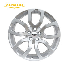 "Zumbo-F5420 All Silver Aluminum Sports 20"" Alloy Wheel Rim Roller Car Wheel Rims for all Cars"