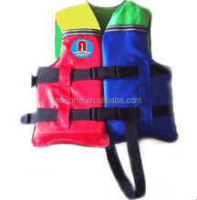 Ortecolorful pvc cute pfd children safety life vest life jacket with crotch strap