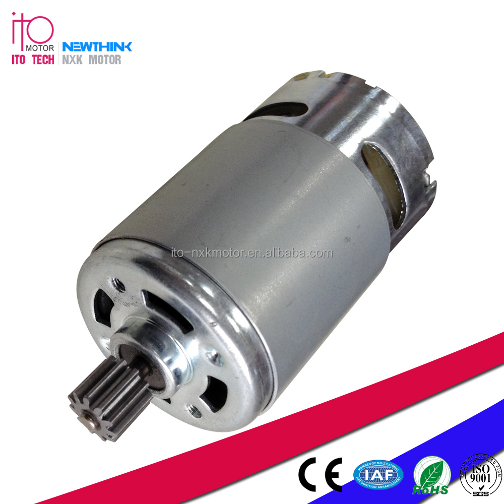 Low noise high torque and quality 12V DC MOTOR