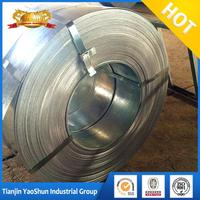 reliable price galvanized steel strip price list width 218 mm