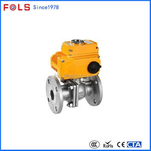 professional high pressure carbon steel flanged electric water diverter valve