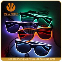 Party & Novelties LED Sunglasses 2014 Halloween Centerpieces wholesale sunglasses china, flashing Led Sunglasses