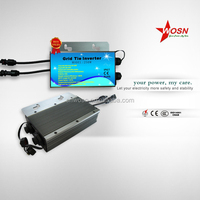 waterproof 250w strong adaptability and stability on grid solar power inverter