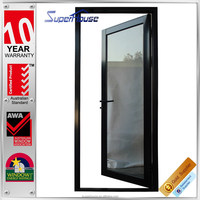 Australian AS2047 Standards single casement aluminium front house exterior door