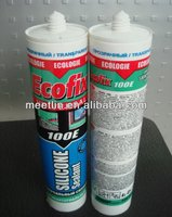 A0008 transparent acid silicone sealant for bonding and repairing different construction material