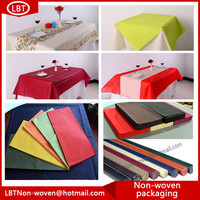 Best Selling Breathable Pp Nonwoven Spunbonded For Table Cloth