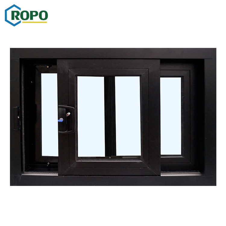 Australia Standard AS2208 Widely Used Superior Quality Double Glass Aluminum Slide Window