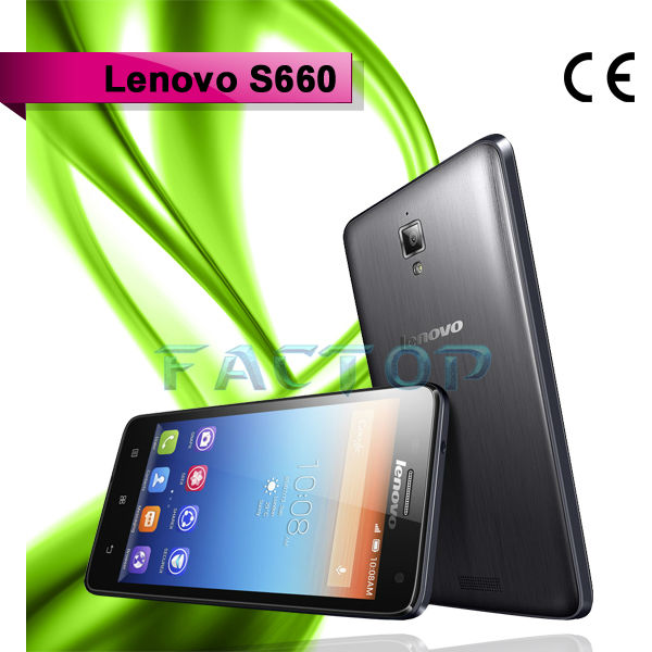 lenovo s660 quad core dual sim card dual standby with CE certificate mobile phone android 4.2 ali import export company