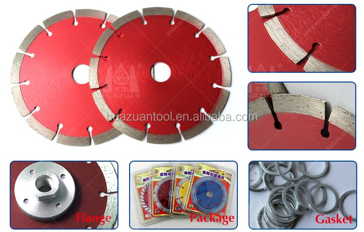 Sintered Segmented Diamond Saw Blades