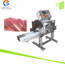 Cooked Meat Beef Slicer , Frozen Meat Cutting Slicing Machine Steak Cutter