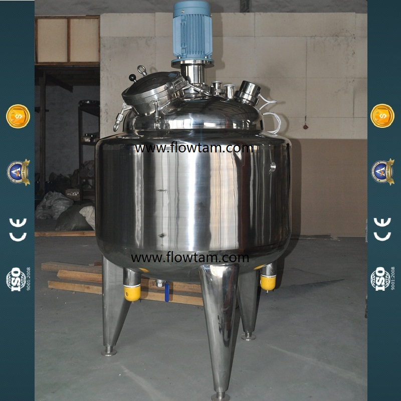 Stainless steel vacuum electric heat marmalade mixing tank (GM-0500D)
