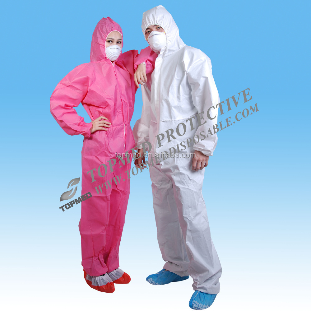 keep safe disposable coverall white, X large/disposable overall with hood and boots